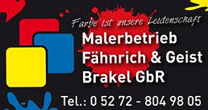 Malerbetrieb Fähnrich & Geist Brakel GbR