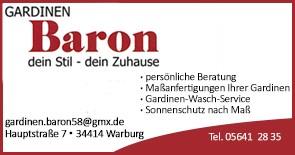 Gardinen Baron