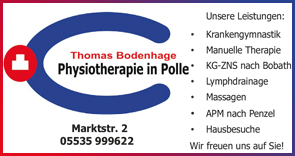 Bodenhage Thomas Physiotherapeut in Polle