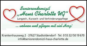 Seniorendomizil Haus Charlotte UG