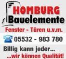 HOMBURG Bauelemente GmbH
