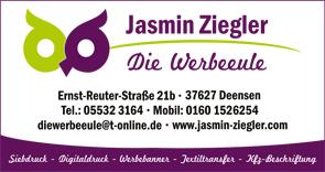Jasmin Ziegler - Die Werbeeule
