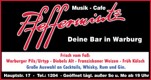 Musikcafe Pfeffermintz